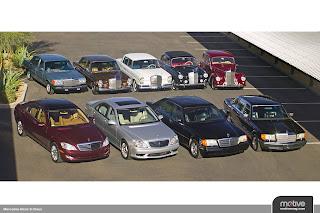 Mercedes S-Class evolution