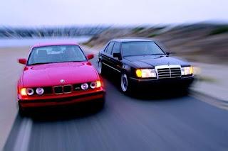Tamerlane's Thoughts: BMW M5 (E34) Versus Mercedes 500E (W124)