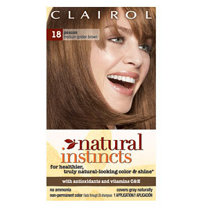 Clairol Natural Instincts Hair Color On Dark Hair