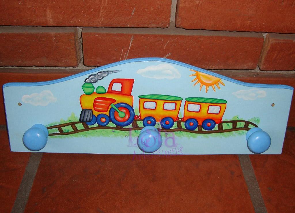 Lola artesan as perchero para nene - Perchero infantil pared ...