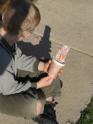 ground hog day puppet