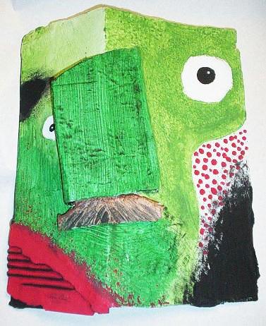 Pablo Picasso Masks: How to Papier-mâché