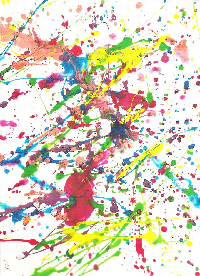 Jackson Pollock Action Painting For Kids Modern Art 4 Kids