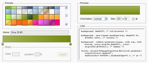 ChugyGogog: CSS Gradient Generator Yang Powerfull Dan Mudah