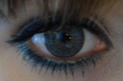 I Like Makeup Circle Lens Review Geo Nudy Gray