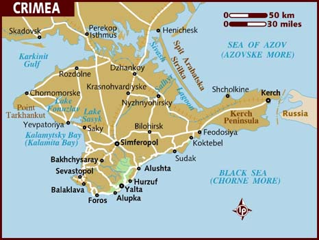 The Eastern Tip Of The Crimea Is The Kerch Peninsula Separated From The Taman Peninsula A Projection Of The Mainland By The Kerch Strait Which Connects