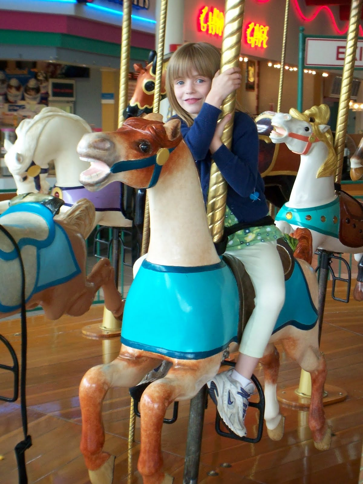 Had Asked The Carousel Attendant Tyler Was Familiar With