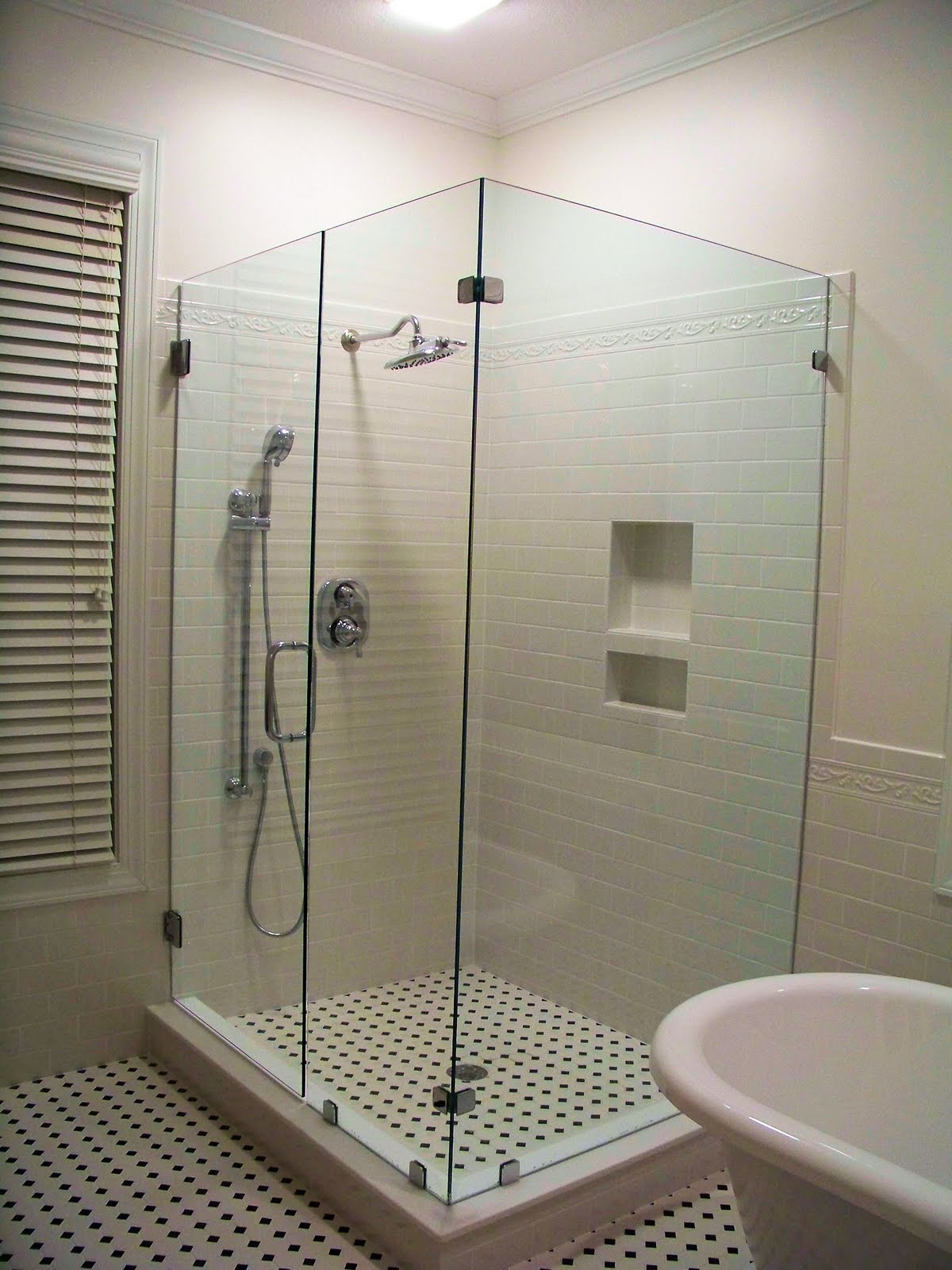 outstanding master bathroom shower | The Comforts of Home: Master Bath Shower