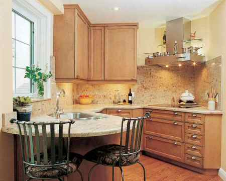 Design Ideas For Small Apartment Kitchens