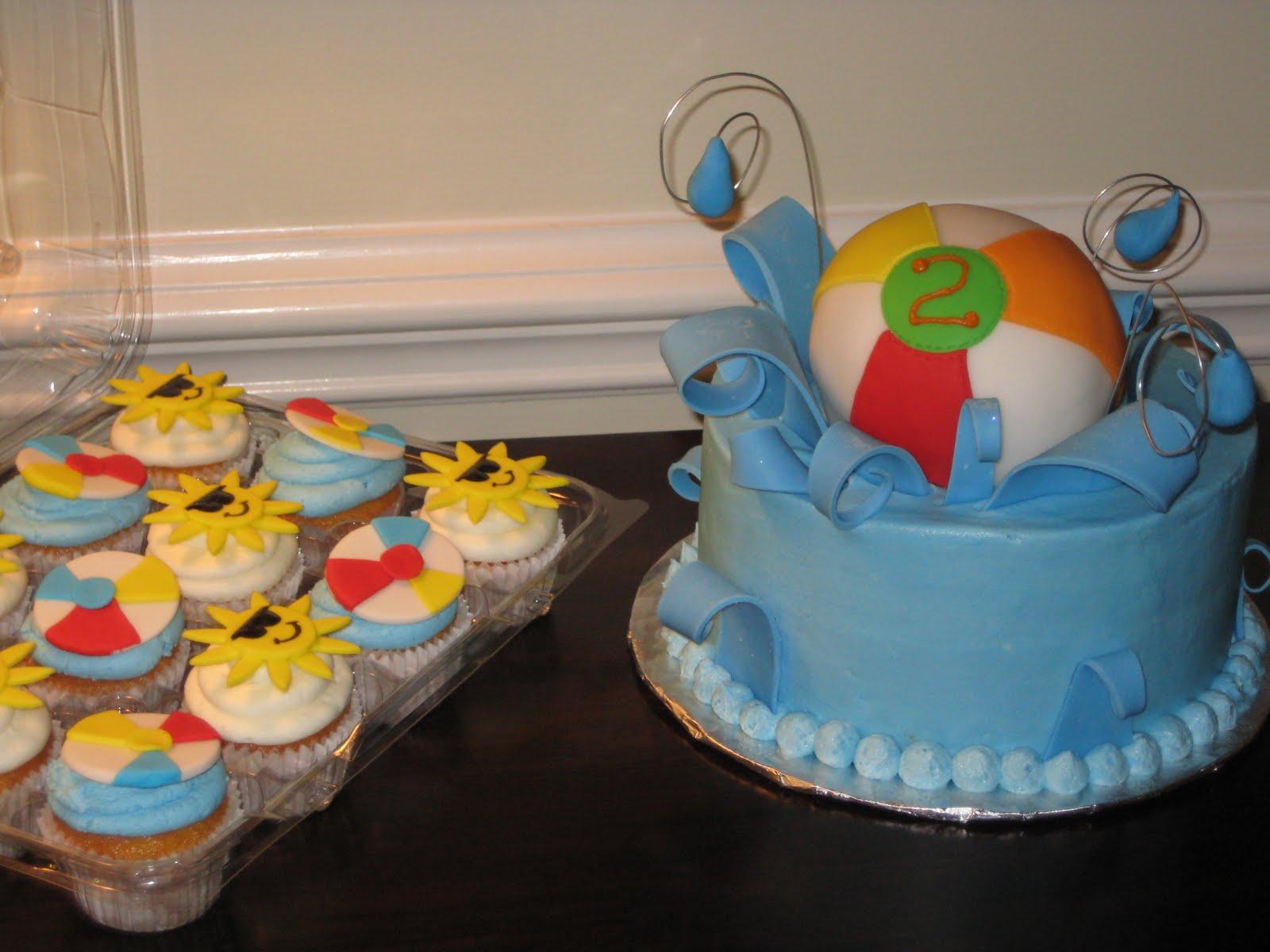 ~fOr THe lOvE oF CakE~: Beach Ball Birthday Bash