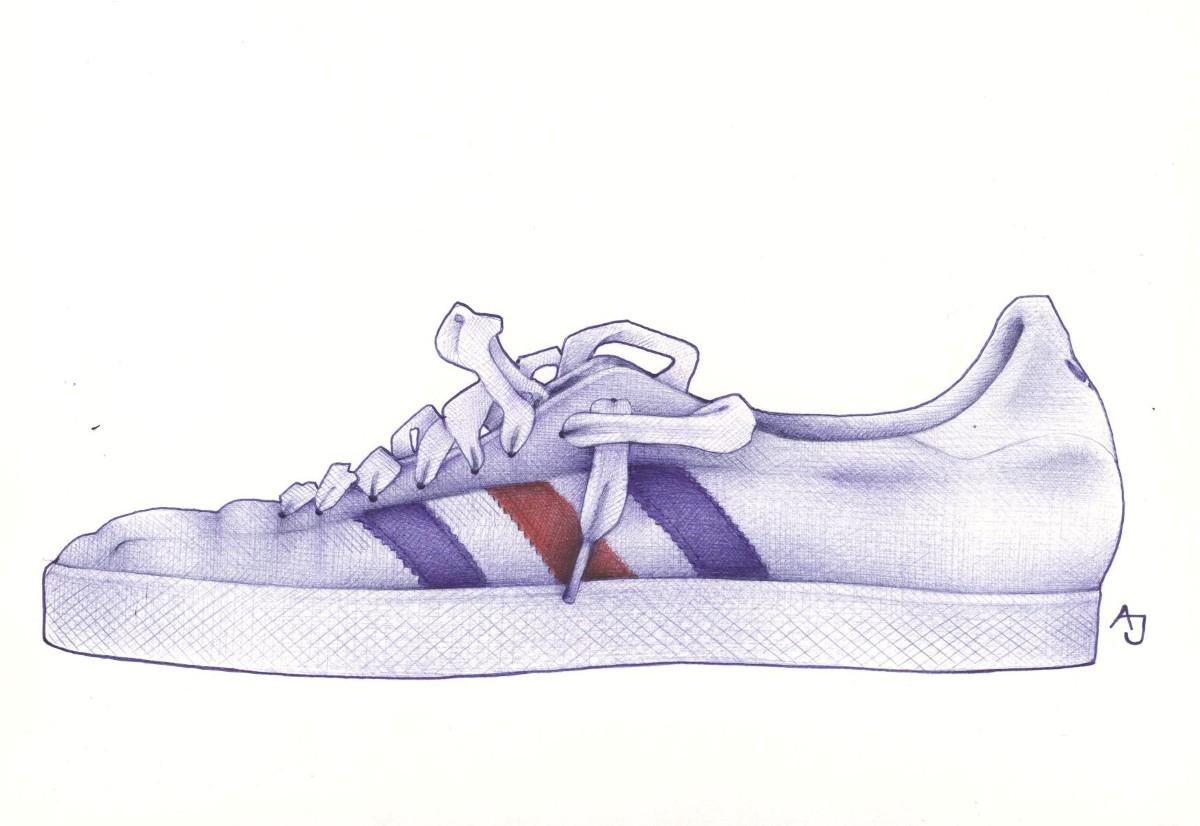 See Thorugh Shoe Top Asic Kanyos
