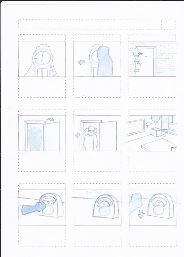 And Another Thing...: Storyboards