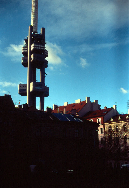Prague TV Tower at Zizkov