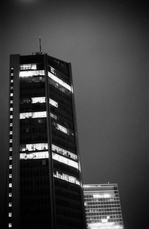 Tall building at Pankrac in Prague
