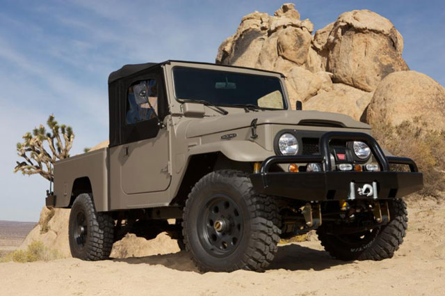 Apropos Of Nothing Icon Fj Handcrafted Toyota Land