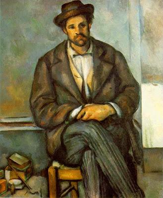 Cezanne, Peasant (Le Paysan), 1891