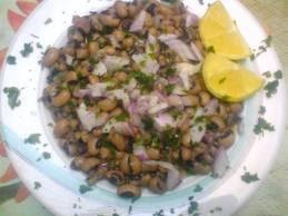 Μαυρομάτικα φασόλια σαλάτα