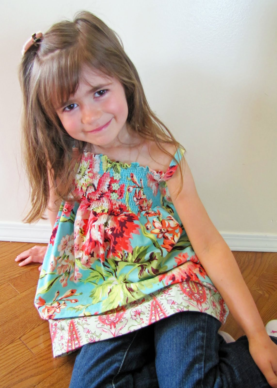 Double Layer Top/Dress Tutorial