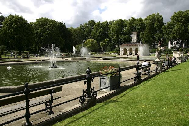 Hyde Park London England