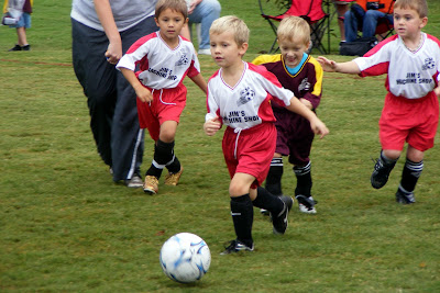 Ryan's Blog: First Soccer Games of the Season!