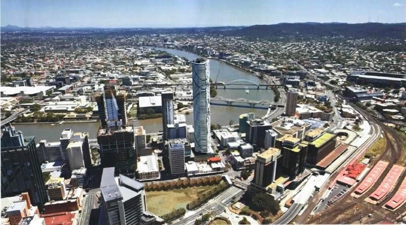Brisbane Apartment: Meriton on Herschel Street