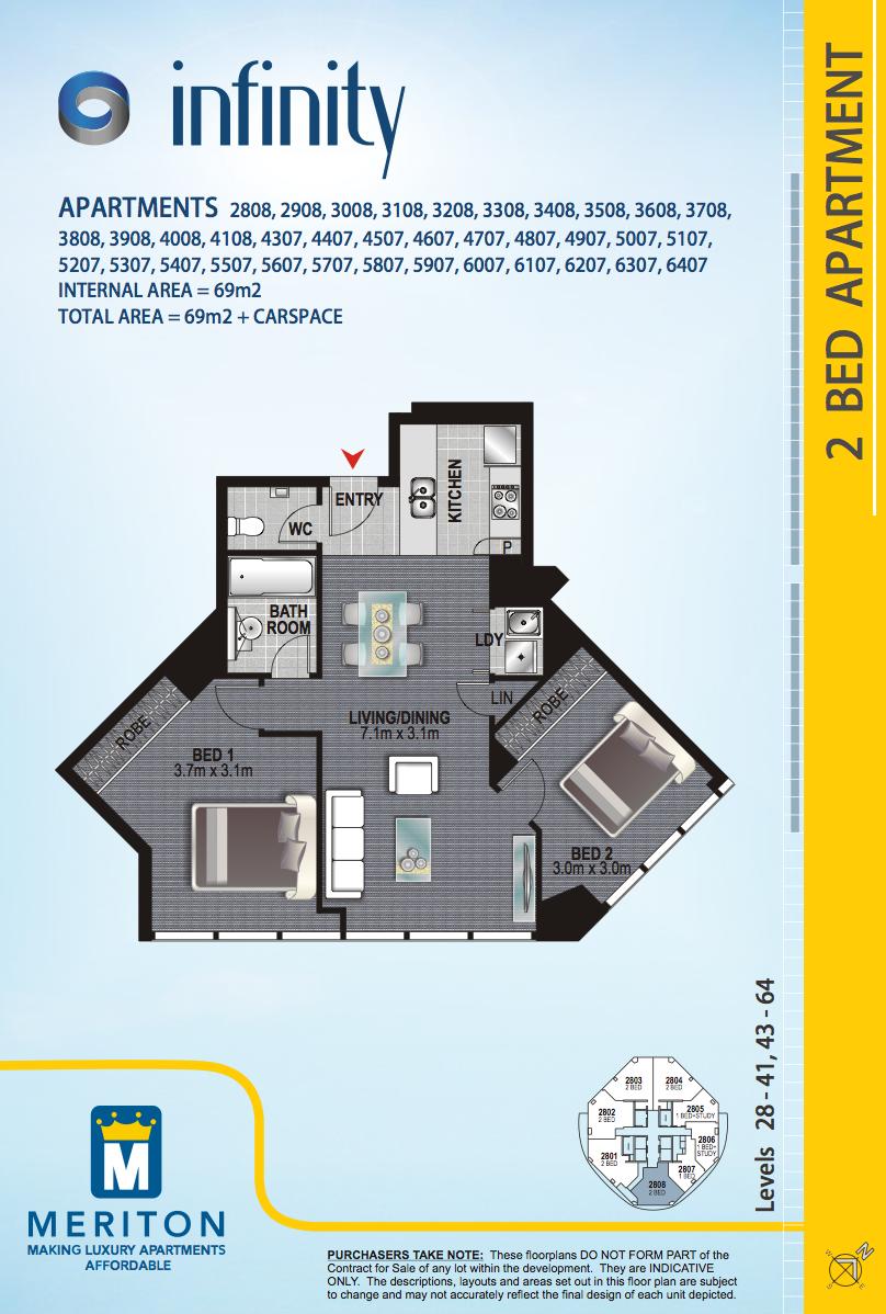 Brisbane Apartment: North Quay