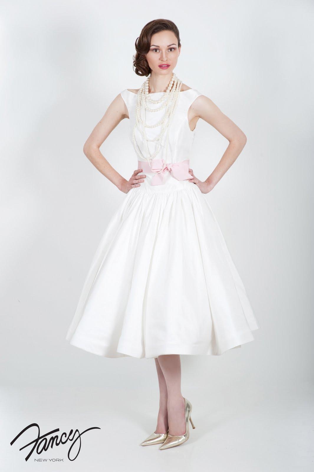Something White Tea Time Tea Length Wedding Dresses