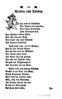 Epoesie Daniel Schiebeler Ariadne Und Theseus