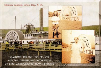 Elizabeth & her mother, Eva, & the Mt. Washington