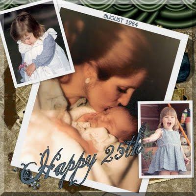 Happy Birthday to my niece, Lesley