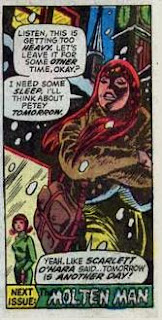Mary Jane Watson leaves the party, Amazing Spider-Man #131