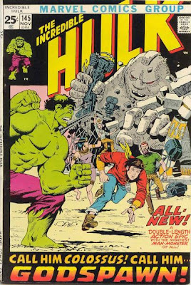 Incredible Hulk #145, the Sphinx, Colossus and Egypt