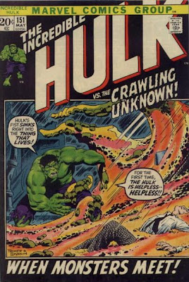 Incredible Hulk #151, It's all gone Quatermass, Herb Trimpe