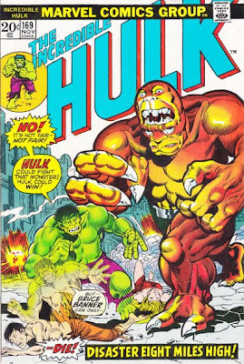 Incredible Hulk #169, the Bi-Beast, Modok and the Harpy