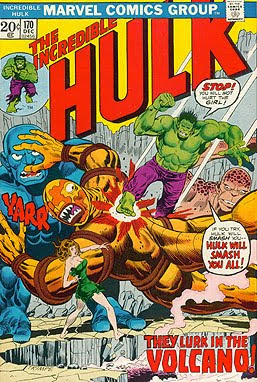 Incredible Hulk #170, an island full of monsters