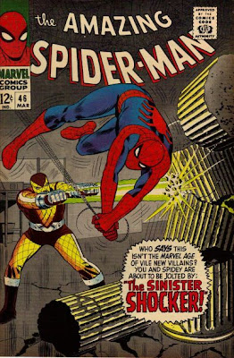 Amazing Spider-Man #46, first ever appearance of the Shocker, John Romita