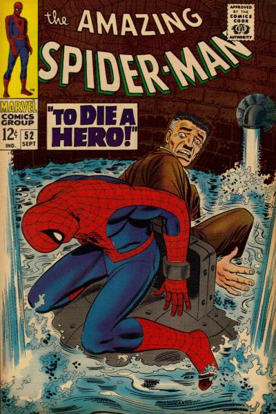 Amazing Spider-Man #52 fred foswell dies