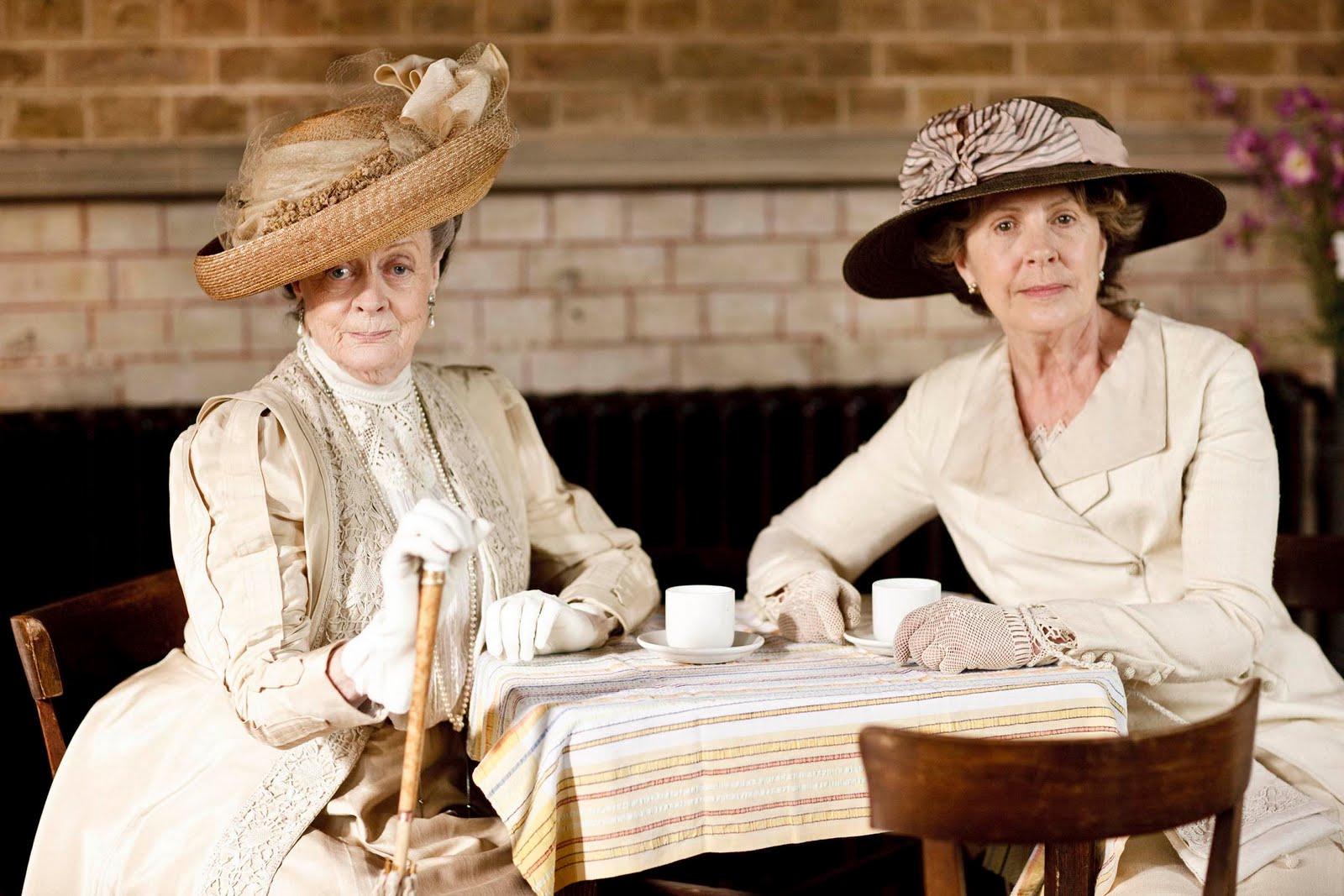Downton Abbey stills featuring Penelope Wilton