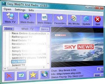 Easy WebTV Radio v1.9.5 Portable