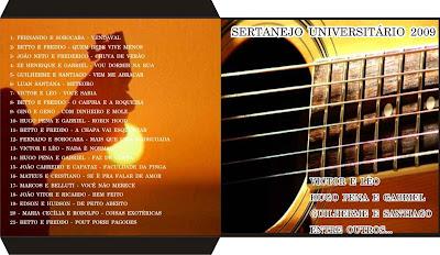 Sertanejo+Universitario+capa SERTANEJO UNIVERSITÁRIO 2009 VOL.02