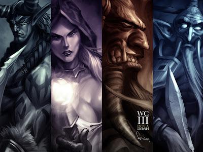 Warcraft Dota All Stars Wallpaper