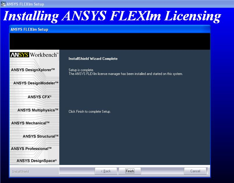 Ansys License File free download