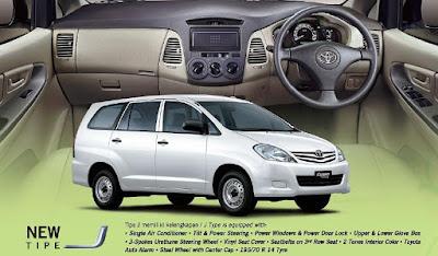 Tipe Dan Harga All New Kijang Innova Cara Mematikan Alarm Grand Avanza Perbandingan Spesifikasi J E Dikta Toyota