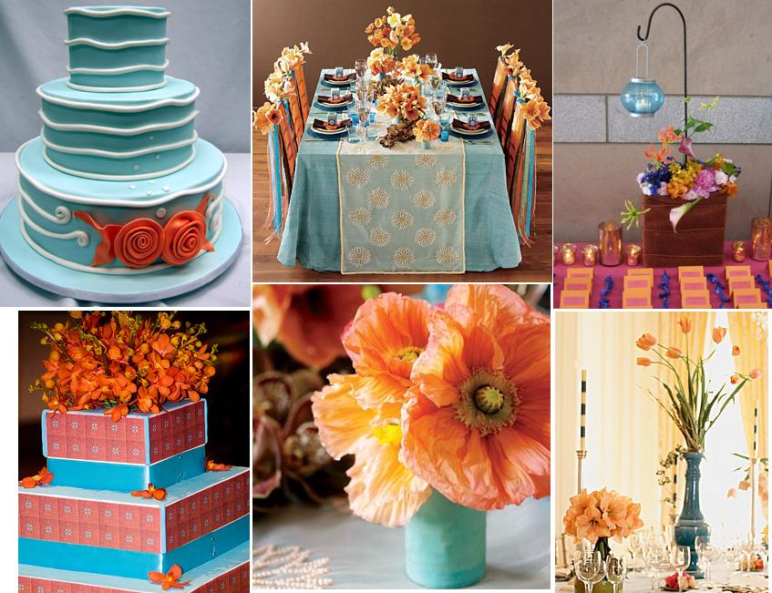 Turquoise And Yellow Wedding Ideas: All Things Creative I Adore You...: Turquoise Wedding