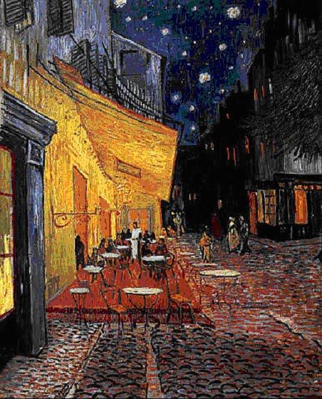 Popinga van gogh e la galassia m51 for Notte di van gogh