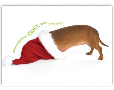 to order this card go here and scroll down for more dachshund christmas cards check out amazons selection - Christmas Dachshund