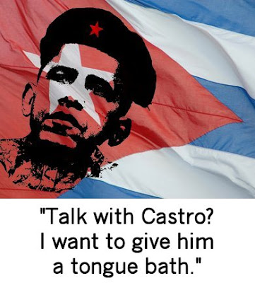 Obama wants to give Castro a tongue bath