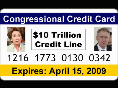 Congressional Credit Card