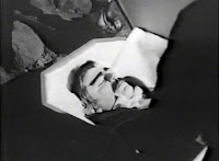 Dracula in coffin