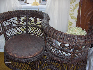 Trinkets And Treasures Nb Victorian Courting Chair